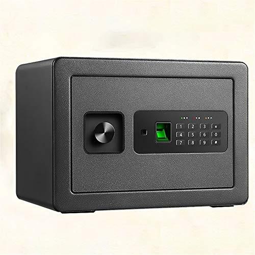 DJDLLZY Caja de Seguridad Electrónica Segura Mini Gabinete digital portátil con el bloqueo del teclado y de acero sólido, grande for el hogar hotel de la oficina de negocios efectivo de la carpeta joy