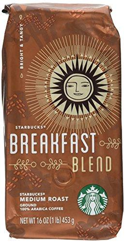 Amazon Com Starbucks Breakfast Blend 1 Lb Ground Coffee Starbucks Morning Roast Grocery Gourmet Food