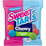 SweeTARTS Extreme Sour Chewy, 3.5 Ounce, Pack of 12