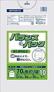 バランスパック 70L 0.018㎜ 半透明 10P×60 BP70N10