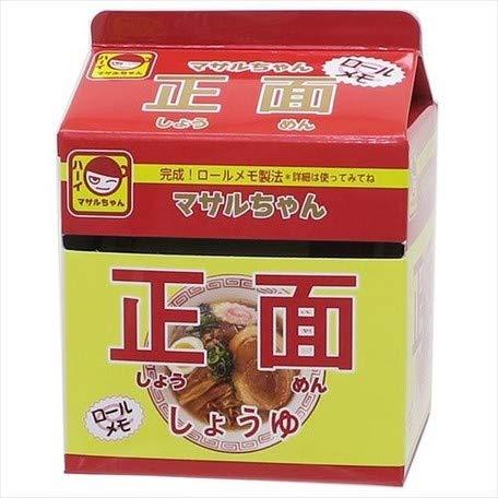 ラーメンロールメモ マサルちゃん醤油