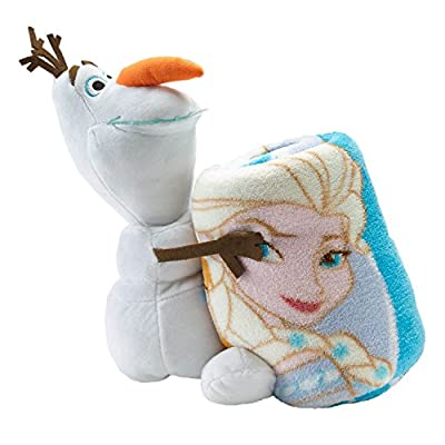 Disneys Frozen Olaf Hugger and Elsa Anna Throw Set