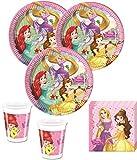 KPW 52Piezas Disney 's Princess Dreaming Party Set para 16niños