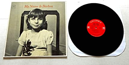 Barbra Streisand My Name Is Barbra - Columbia Records 1965 - Used Vinyl LP Record - 1965 Mono Pressing CL 2335 2-Eye Logo Labels - My Man - Where Is The Wonder - Sweet Zoo - Someone To Watch Over Me