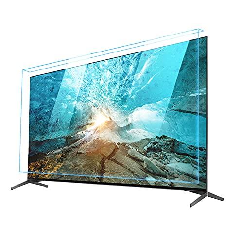 WUK Protección de Pantalla LCD antirrayas de TV, Protector de Pantalla de luz Azul antideslumbrante, Filtro de protección de Pantalla Colgante antideslumbrante de Ojos para 32-75 Pulgadas