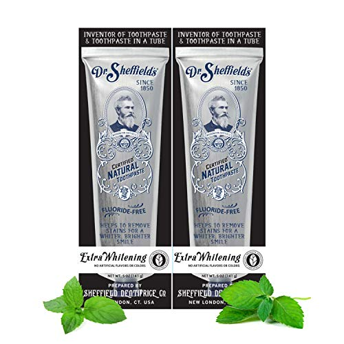 Dr. Sheffield's Certified Natural Toothpaste...