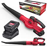 Topex 20V MAX Cordless Leaf Blower 2.0Ah Battery& Fast Charger Included 120Km/h