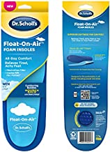 Dr. Scholl's Float-On-Air Insoles for Men, Shoe Inserts That Relieve Tired, Achy Feet with All Day Comfort, , Men's 8-14