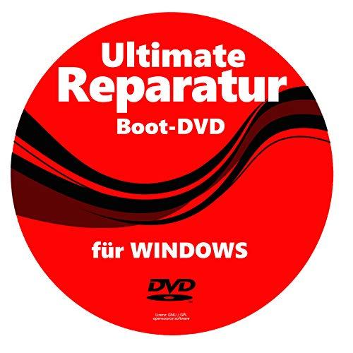 PC NOTFALL REPARATUR RECOVERY REPAIR SICHERUNG BOOT CD WINDOWS XP 7 8 10