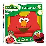 MOLTO Elmo - Babero de silicona barrio sésamo, color rojo