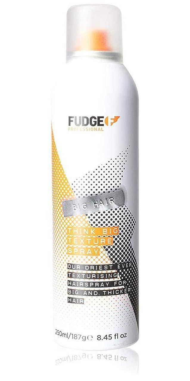 切手もろい湿ったFudge Big Hair Think Big Texture Spray 250 ml