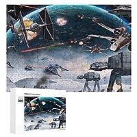 300ピース ジグソーパズル パズル 木製パズル 飾り画 スターウォーズ (3) 参考図付き 減圧玩具 頭脳練習 創造力 知育 子供 大人 ギフト プレゼント puzzle