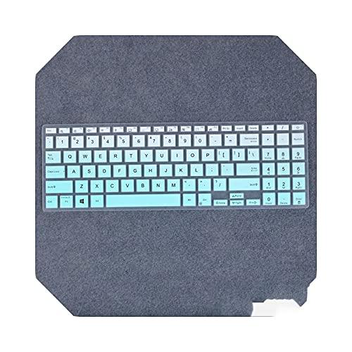 Para Asus L510MA L510 E510MA E510 E510M VivoBook 15 K513EA K513EP F513IA X513 15.6' Laptop Keyboard Cover Protector Skin-fademint