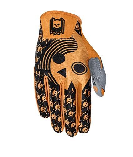 FIST Handschuhe BMX Downhill Fahrradhandschuhe KRK verschiedene Farben, Farbe:orange;Grösse:XL