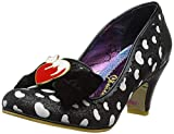 Irregular Choice Damen Dream Lover Pumps, Schwarz Schwarz B, 38 EU