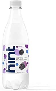 Hint Fizz Sparkling Water Blackberry (Pack of 12) 16.9 Ounce Bottles Unsweetened Blackberry-Infused Sparkling Water Zero Sugar Zero Calories Zero Sweeteners Zero Artificial Flavors