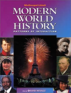 McDougal Littell World History: Patterns of Interaction: Student Edition Grades 9-12 Modern World History 2003
