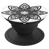 Mandala Lace Muster Pakwan Sunset Ocean Yoga Meditation - PopSockets Ausziehbarer Sockel und Griff für Smartphones und Tablets