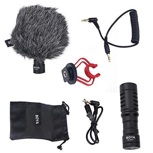 USB Mini Smartphone-microfoon Hooggevoelige microfoon voor karaoke Live-opnamemicrofoon
