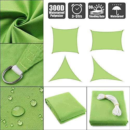 H.ZHOU Shade Reflective Shade cloth 95% black shade cloth UV-resistant glued edge with eyelet shade fabric -9x12ft/3x4m 908