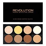 Makeup Revolution Ultra Cream Contour Palette Paleta do konturowania twarzy 13g