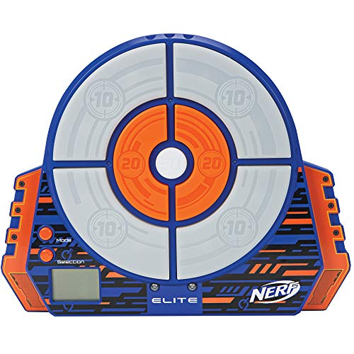 NERF Elite Digital Target , Blue/Orange , Standard