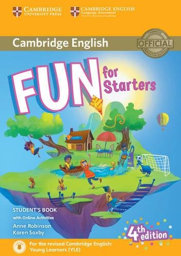 Fun for Starters Student's Book with Online Activities with Audio [Lingua inglese]