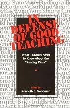 In Defense of Good Teaching