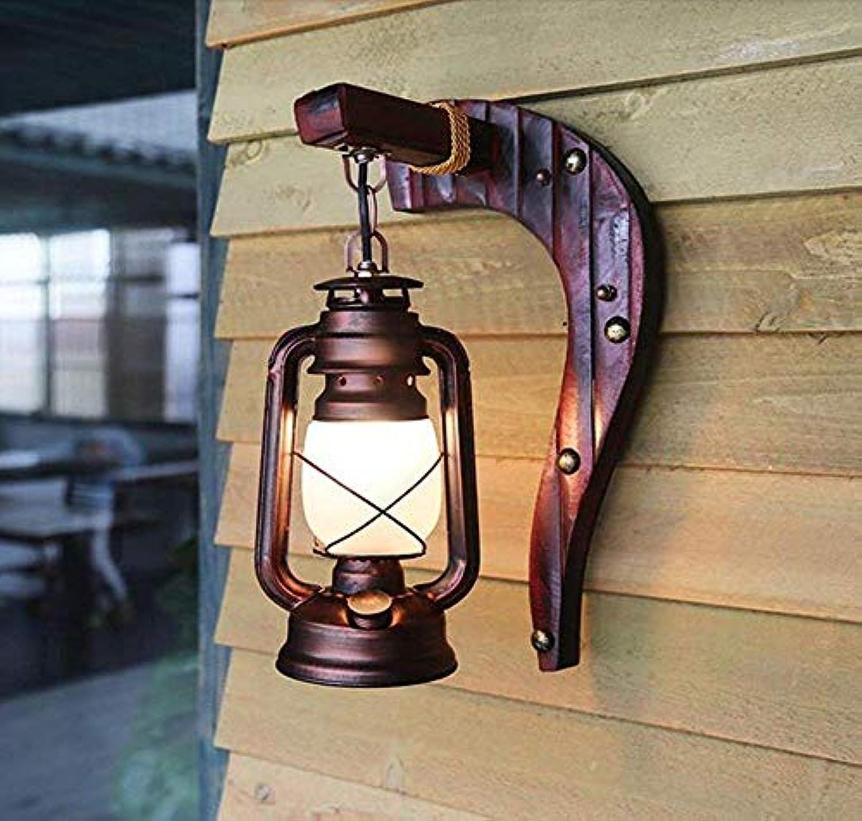 Oudan Retro Vintage Antik Wandleuchte Schlafzimmer Balkon Bambus Licht (Stil  (A) (Farbe   B)