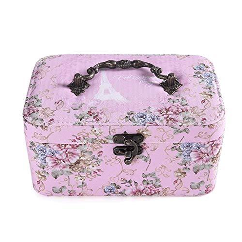 Caja de joyería 19.5 * 12.5 * 9.5 CM Caja de Almacenamiento...