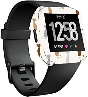 MightySkins Skin Compatible with Fitbit Versa Smartwatch - Cat Lady | Protective, Durable, and Unique Vinyl Decal wrap Cover | Easy to Apply, Remove, and Change Styles | Made in The USA