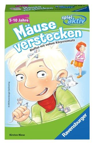 Ravensburger 23336 - Spiel Aktiv: Mäuse verstecken - Mitbringspiel
