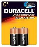 Duracell Copper Top C Duracell Coppertop C Alkaline Batteries 1.5 Volt 2 Each