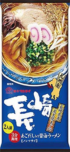 6位:長崎県 マルタイ『長崎あごだし入り醤油ラーメン』