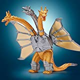 Godzilla Mecha King Ghidorah - Godzilla Monster - King of The Monsters Toy - Movie Monster Series - Godzilla Action Figure 2021 - Godzilla Size 6'' - Toy for Boys Godzilla