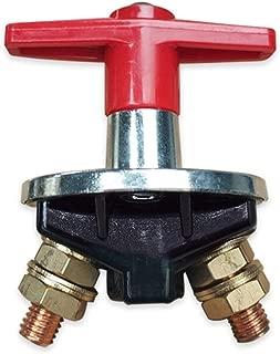 Sedeta Interruptor de apagado de desconexi/ón de la bater/ía 2 interruptores con 2 llaves extra/íbles 50A 24V 100A 12V para veh/ículos marinos RV RV del barco del coche