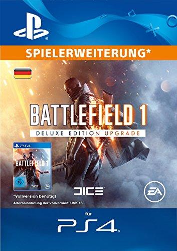 Battlefield 1: Deluxe Edition Upgrade [PS4 Download Code - deutsches Konto]