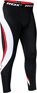 RDX MMA Compression Pants Boxing Training Base Layer Fitness Running Exercise