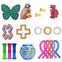 18PCS減圧感覚玩具、ストレス解消玩具セット、フィジェットボール ストレス解消おもちゃ