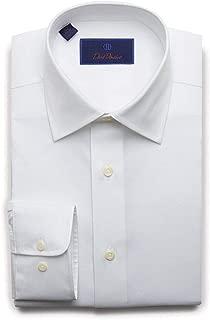 Mens Regular Fit Long Sleeve Twill Dress Shirt