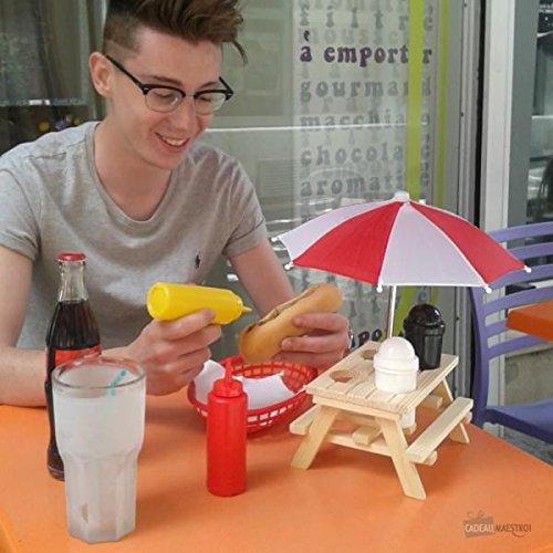 Mini juego de mesa de picnic – Regalo Maestro
