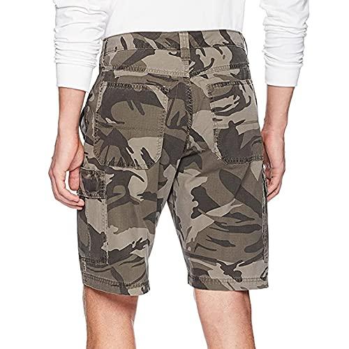 Pantalones Cortos Casuales de Verano Para NiñOs Pantalones Cortos Casuales de Cinco Puntos EláSticos de Bolsillo Hombre PantalóN Corto Informal con CordóN Cargo Shorts Bermudas Hombre