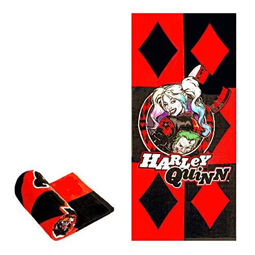51J3BrGLzTL Harley Quinn Bath Towels