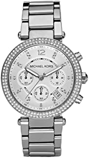 Michael Kors Parker Women's Silver Dial Stainless Steel Band Watch - MK5353