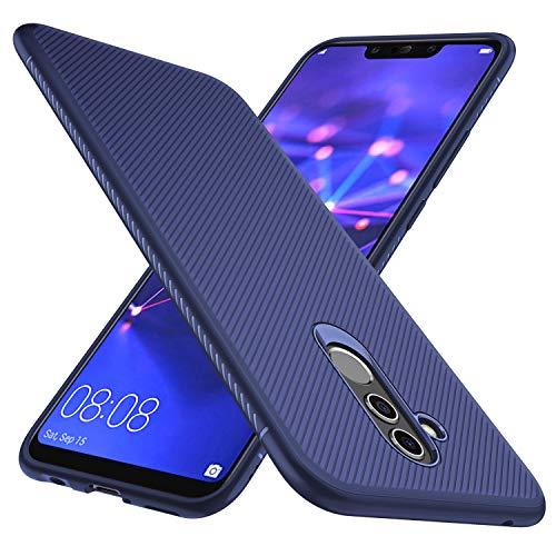 GeeMai Huawei Mate 20 Lite Hülle, [Blau Soft Hülle] Ultra Thin Silikon Schutzhülle Tasche Soft TPU Hüllen Handyhülle für Huawei Mate 20 Lite Smartphone
