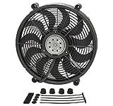 Derale 16917 17' High Output Pusher/Drop-in Electric Fan