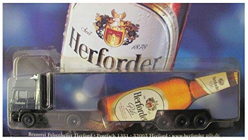 Herforder Nr.07 Pils - liegende Flasche - Man F2000 - Sattelzug