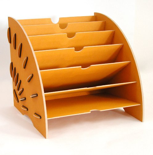 Werkhaus- Magazin: Ein etwas anderer Zeitungs- und Zeitschriftensammler für das Wohn- oder Lesezimmer. B = 36 cm, H = 30 cm, T = 34 cm