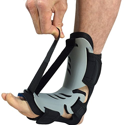 DR BEST Plantar Fasciitis Night Splint For Pain Relief / Adjustable Sleep Support, Treatment Relieves Plantar Fascitis, Heel Spurs, Achilles Tendonitis by DME-Direct