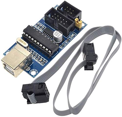 ZHITING USBTiny USBtinyISP AVR ISP Programmierer 6/10 Pin Bootloader für Arduino UO MEGA